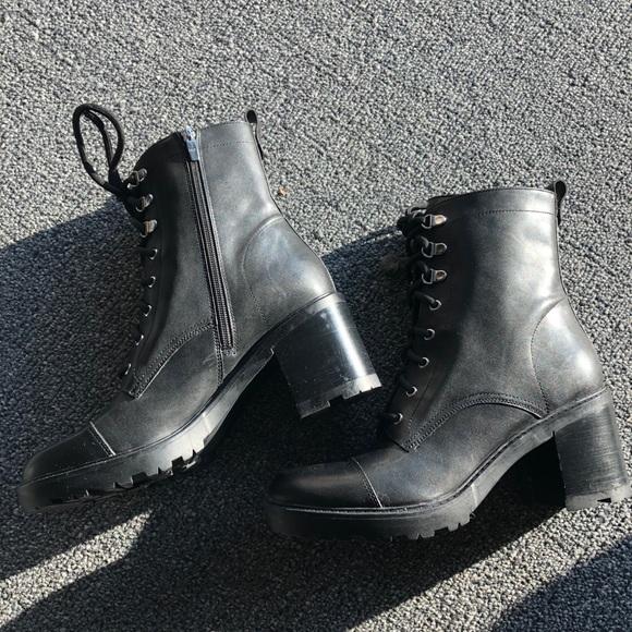 855fa713a3d Marc Fisher combat boots